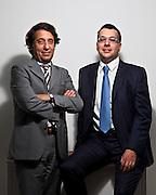 Luca Garbarino e Luigi de Martini, DRM Impianti. L'azienda si occupa di refrigerazione e del settore impiantistico Hvac. Gli impianti della DRM sono utilizzati particolarmente in zone pericolose e non a caso il primo cliente dell'azienda è il settore navale militare oltre che quello cruise.