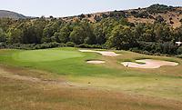 ALCAIDESA (Spain)  -  Hole 2 .  Heathlands Golf Course en Links Golf. COPYRIGHT KOEN SUYK