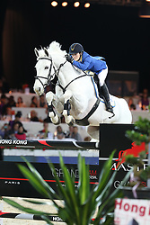 Melchior Judy Ann (BEL) - As Cold As Ice Z<br /> CSI 5* Longines Hong Kong Masters 2013<br /> © Hippo Foto - Counet Julien