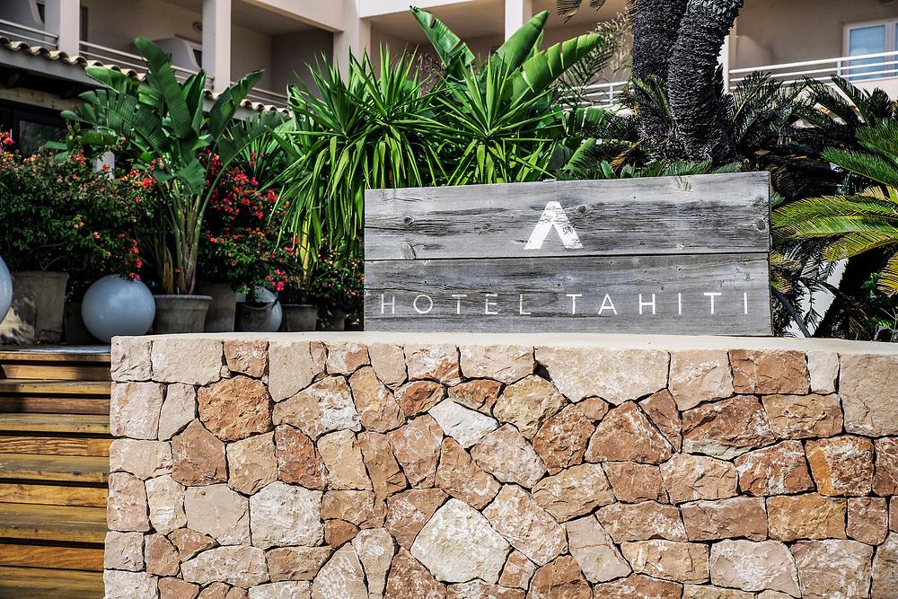 Charming hotel, Es Pujois, Formentera, Balearic Islands,, Spain.