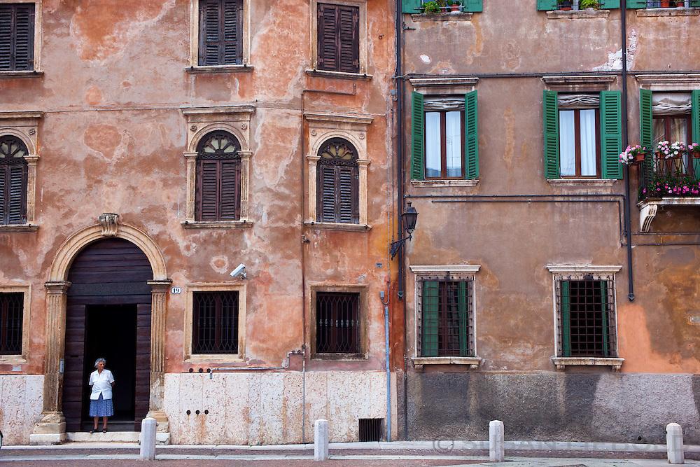 Building in Verona, Italy.