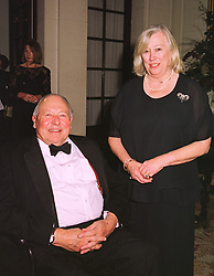 The EARL & COUNTESS OF RADNOR at a dinner in london on 15th December 1998.MNA 14