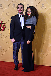 Martin Compston and Tianna Chanel Flynn attending the premiere of Mary Queen of Scots, at the Cineworld cinema in Leicester Square, London. Picture date: Monday December 10, 2018. Photo credit should read: Matt Crossick/ EMPICS Entertainment.