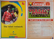 All Ireland Senior Hurling Championship - Final, .12.09.1999, 09.12.1999, 12th September 1999,.12091999AISHCF,.Senior Kilkenny v Cork,.Minor Galway v Tipperary, .Cork 0-13, Kilkenny 0-12, .Esat Digifone, .Cork back row, Diarmuid O'Sullivan, Brian Corcoran, John Browne, Fergal McCormack, Wayne Sherlock, Donal Og Cusack, Sean Og O hAilpin, Front row from left, Seanie McGrath, Fergal Ryan, Michael O'Connell, Ben O'Connor, Mark Landers captain, Neil Ronan, Tommy McCarthy, Joe Deane,