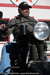 Stage 8 of the Motorcycle Cannonball Cross-Country Endurance Run, which on this day ran from Junction City, KS to Burlington, CO., USA. Saturday, September 13, 2014.  Photography ©2014 Michael Lichter.