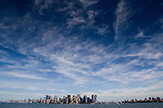View of Lower Manhatten from Liberty Island