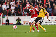 Sheffield United's Jamie Murphy during the Sky Bet League 1 Play Off Second Leg match between Swindon Town and Sheffield Utd at the County Ground, Swindon, England on 11 May 2015. Photo by Shane Healey.