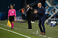 SAINT-PETERSBURG, RUSSIA - OCTOBER 20: <br /> Club Brugge KV manager Philippe Clement during the UEFA Champions League Group F match between Zenit St Petersburg and Club Brugge KV at Gazprom Arena on October 20, 2020 in Saint-Petersburg, Russia [Photo by MB Media]