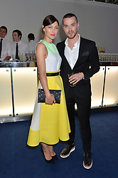 EMMA WILLIS and MATT WILLIS at the Glamour Women of The Year Awards in Association with Next held in Berkeley Square Gardens, Berkeley Square, London on 3rd June 2014.