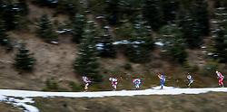 13.12.2014, Biathlonarena, Hochfilzen, AUT, E. ON IBU Weltcup, Staffel, Herren, im Bild Feature, v.l.: Erik Lesser (GER), Daniel Mesotitsch (AUT), Maxim Tsvetkov (RUS), Michal Slesingr (CZE), Simon Fourcade (FRA), Johannes Thingnes Boe (NOR) // during Mens Relay of E. ON IBU Biathlon World Cup at the Biathlonstadium in Hochfilzen, Austria on 2014/12/13. EXPA Pictures © 2014, PhotoCredit: EXPA/ JFK