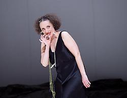 Tanztheater Wuppertal Pina Bausch <br /> 'Masurca Fogo' <br /> at Sadler's Wells, London, Great Britain <br /> rehearsals<br /> 8th February 2017 <br /> <br /> Tanztheater Wuppertal Pina Bausch: Masurca Fogo<br /> Nazareth Panadero<br /> Masurca Fogo, created by the endlessly inventive Pina Bausch, returns to Sadler's Wells from 9 - 12 February 2017. The piece is performed by the legendary Tanztheater Wuppertal Pina Bausch, a Sadler's Wells International Associate Company.<br /> <br /> <br /> <br /> <br /> Performers:<br /> Regina Advento, Pablo Aran Gimeno, Emma Barrowman, Rainer Behr, Andrey Berezin, Michael Carter, Çağdaş Ermis, Silvia Farias Heredia, Jonathan Fredrickson, Ditta Miranda Jasjfi, Daphnis Kokkinos, Cristiana Morganti, Breanna O'Mara, Nazareth Panadero, Julie Shanahan, Oleg Stepanov, Julian Stierle, Fernando Suels Mendoza, Aida Vainieri, Ophelia Young.<br /> <br /> Photograph by Elliott Franks <br /> Image licensed to Elliott Franks Photography Services