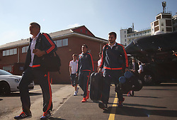 General view as the Middlesbrough players arrive before the match - Mandatory byline: Jack Phillips / JMP - 07966386802 - 19/9/2015 - FOOTBALL - The City Ground - Nottingham, Nottinghamshire - Nottingham Forest v Middlesbrough - Sky Bet Championship