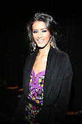 Jeselene Gonzalez at the South Pole Fashion show during ' The Stay in School Concert ' facilated by Entertainers for Education held at The Manhattan Center on October 28, 2008 in New York City