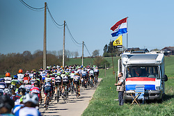 Flèche Wallonne Femmes - a 137km road race from starting and finishing in Huy on April 20, 2016 in Liege, Belgium.