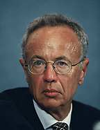 Andrew Grove at a conference  of C.E.O.'s pf the software industry.<br />Photo by Dennis Brack
