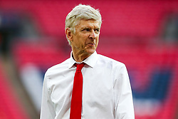 Arsenal manager Arsene Wenger looks on after Arsenal win the match 2-0 to become FA Cup Winners - Rogan Thomson/JMP - 27/05/2017 - FOOTBALL - Wembley Stadium - London, England - Arsenal v Chelsea - FA Cup Final.