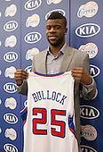 Basketball: Clippers introduces Reggie Bullock