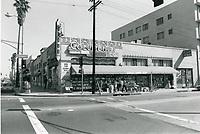 1976 Columbia Drug Store on the SE corner of Sunset Blvd. & Gower St.