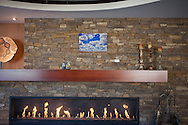North country conference center's mantle piece