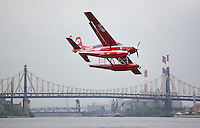 The Standard Hotel is offering a plane to shuttle between NYC and the Hamptons by way of a Cessna 208 Anphibian sea plane that picks up at New York Skysports located at 23rd St and the East River.  ..Photo by Robert Caplin.