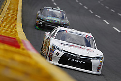 May 26, 2018 - Concord, North Carolina, United States of America - Brandon Hightower (55) brings his car through the turns during the Alsco 300 at Charlotte Motor Speedway in Concord, North Carolina. (Credit Image: © Chris Owens Asp Inc/ASP via ZUMA Wire)