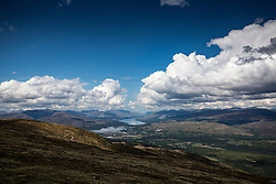 Images from Sgurr Finnisg-aig, on the slopes of Aonach Mor, after using the Nevis Range mountain gondola, which transports visitors effortlessly from 300ft up to 2150ft on the north face of Aonach Mor, the eighth highest mountain in Britain.