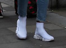 Rio Ferdinand & Kate Wright in Central London - 17 April 2018