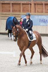 Trabert Angelika, (NED), First Lady Melody<br /> Grade II Team Test<br /> Para-Dressage FEI European Championships Deauville 2015<br /> © Hippo Foto - Jon Stroud<br /> 18/09/15