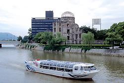 Motoyasu River & A-bomb Dome
