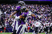 The Baltimore Ravens defeated the Houston Texans, 41-7, at M&T Bank Stadium in Baltimore, MD on November 17, 2019.