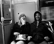 12/16/06 Chicago, IL Downtown Chicago subway train..(Chris Machian/ Prairie Pixel Group)..