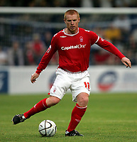 Photo: Paul Thomas.<br /> Chester City v Nottingham Forest. The Carling Cup. 14/08/2007.<br /> <br /> Captain for the night, Neil Lennon of Forest.