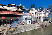 Pashipatinath, Nepal. This is Nepal's most important Hindu temple and honors Shiva in the form of Pashipati, lord of the beasts. It is considered aupicious to be cremated here.