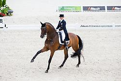 Kristy Oatley, (AUS), Ronan 2 - Grand Prix Team Competition Dressage - Alltech FEI World Equestrian Games™ 2014 - Normandy, France.<br /> © Hippo Foto Team - Leanjo de Koster<br /> 25/06/14