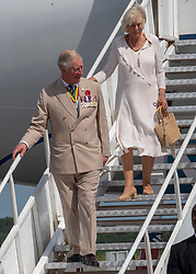 The Prince of Wales and Duchess of Cornwall arrive at Kotoka international airport in Accra, Ghana, on day three of their trip to west Africa.