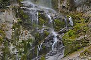 Waterfall, Tangjiahe National Nature Reserve, Sichuan, China