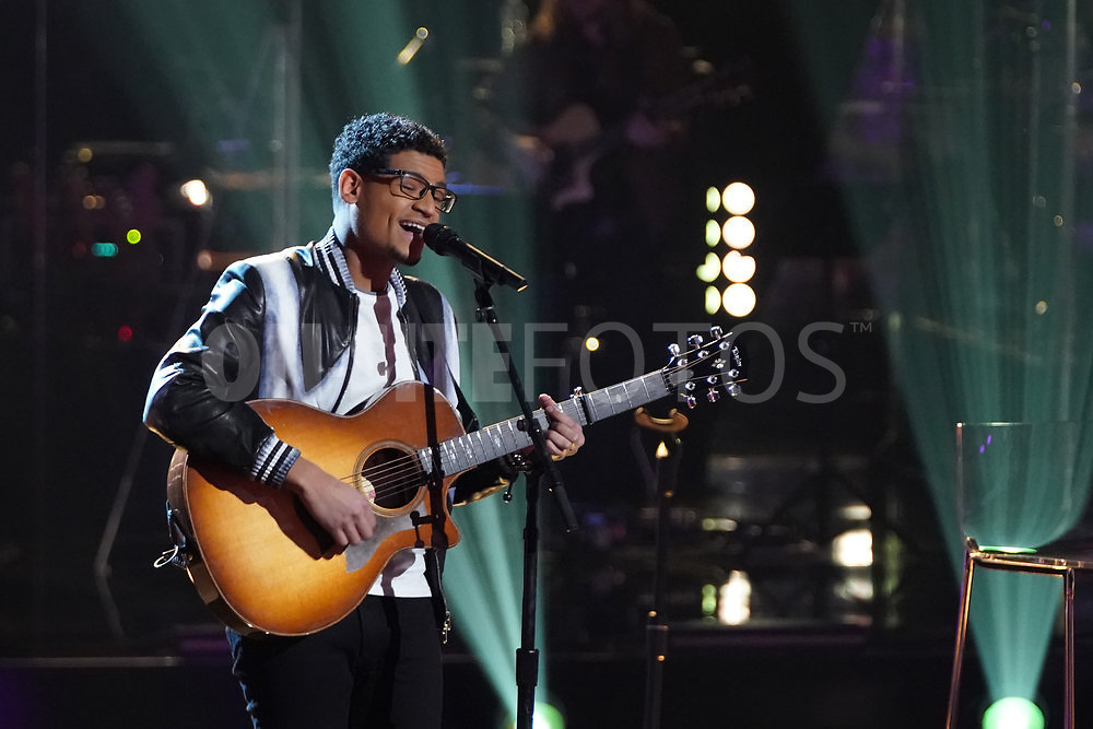 """THE VOICE  -- """"Knockout Rounds"""" Episode 2010 --  Pictured: Gean Garcia -- (Photo by: Tyler Golden/NBC)"""