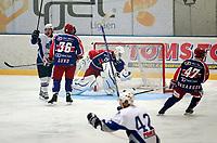 Get-ligane, ishockey i Furuset Forum.<br /> Furuset mot Vålerenga 4-0.<br /> Her jubles det etter 1-0 scoringen til Lars Erik Forsberg<br /> Foto: Geir Egil Skog, Digitalsport
