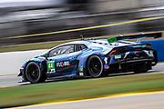 October 15-17, 2020. IMSA Weathertech Petit Le Mans: #44 GRT Magnus Racing, Lamborghini Huracan GT3, GTD: John Potter, Andy Lally, Spencer Pumpelly