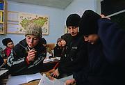 Cleja village, Klèsza in Hungarian, school of Hungarian for the children.