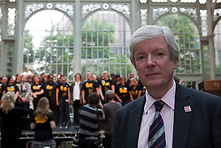 © under license to London News Pictures. 25/06/12. London, UK. Chief Executive of the Royal Opera House, Tony Hall at the Streetwise Opera.Streetwise Opera is co-ordinating a one-night special event tonight at the Royal Opera House to showcase the skills of 300  performers from around the U.K who have experienced homelessness. ..ALEX CHRISTOFIDES/LNP