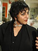 Meera Syal. Bollywood party. Selfridges. 2 May 2002. © Copyright Photograph by Dafydd Jones 66 Stockwell Park Rd. London SW9 0DA Tel 020 7733 0108 www.dafjones.com