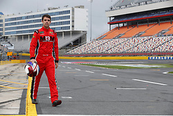 May 26, 2018 - Concord, North Carolina, United States of America - Timmy Hill (66) hangs out on pit road before qualifying for the Alsco 300 at Charlotte Motor Speedway in Concord, North Carolina. (Credit Image: © Chris Owens Asp Inc/ASP via ZUMA Wire)