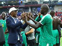 esultanza finale Kalidou Koulibaly (Senegal) <br /> Moscow 19-06-2018 Football FIFA World Cup Russia  2018 <br /> Poland - Senegal / Polonia - Senegal <br /> Foto Matteo Ciambelli/Insidefoto