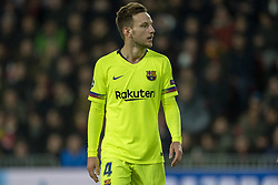 November 28, 2018 - Eindhoven, Netherlands - Ivan Rakitic of Barcelona looks on during the UEFA Champions League Group B match between PSV Eindhoven and FC Barcelona at Philips Stadium in Eindhoven, Netherlands on November 28, 2018  (Credit Image: © Andrew Surma/NurPhoto via ZUMA Press)