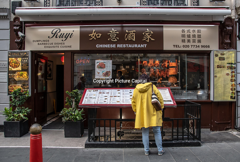 Ruyi in London Chinatown Sweet Tooth Cafe and Restaurant at Newport Court and Garret Street on 15 June 2019, UK.