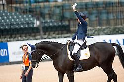 Den Dulk Nicole, NED, Wallace NOP<br /> World Equestrian Games - Tryon 2018<br /> © Hippo Foto - Dirk Caremans<br /> 18/09/2018