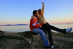 Casal de Namorados ao pôr-do-sol. FOTO: Jefferson Bernardes/Preview.com