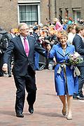 Koninginnedag 2010 . De Koninklijke familie in het zeeuwse  Middelburg. / Queensday 2010. De Royal Family in Middelburg.<br /> <br /> op de foto / on the photo Pieter van Vollenhoven en Prinses Margriet