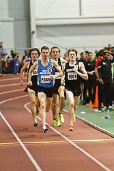 Boston University Terrier Invitational Indoor Track Meet: Eric Jenkins, David McCarthy, Riley Masters, Mens Elite Mile